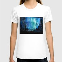 northern lights T-shirts featuring Northern Lights by VivianLohArts