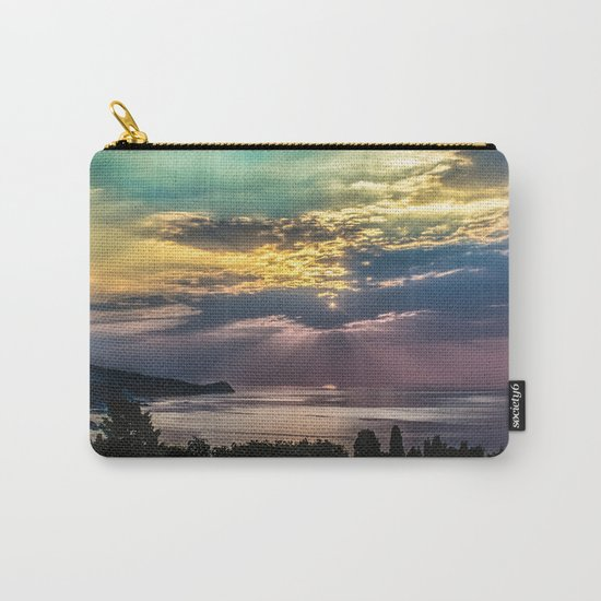 Cloudy sunrise Carry-All Pouch