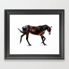 The Dancing Horse Framed Art Print