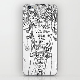 Ms. Charles' Syndrome iPhone Skin