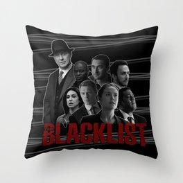 The Blacklist Throw Pillow
