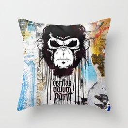 Veritas Odium Parit Throw Pillow