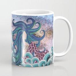 Midnight Blue Mermaid Coffee Mug