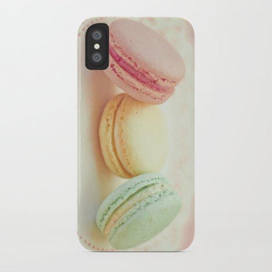 Pastel Macarons iPhone Case