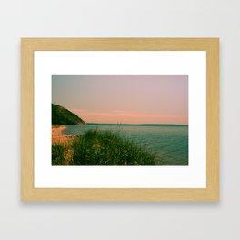 Just After Sunset Framed Art Print