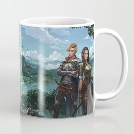 Elves of Lessa book series by K.M. Shea Coffee Mug
