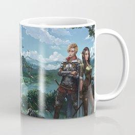 Elves of Lessa book series by K.M. Shea Coffee Mug