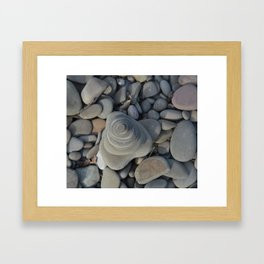Concentric Framed Art Print
