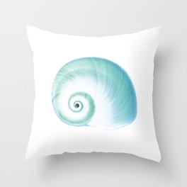 Cool Modern Sea Shell Throw Pillow