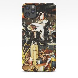 Bosch Garden Of Earthly Delights Panel 3 - Hell iPhone Case