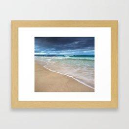Winter Surf Framed Art Print