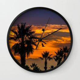 Sunrise in California Wall Clock