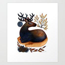 The Spirit of the Elk Art Print