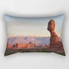 Balanced Rock Utah Rectangular Pillow
