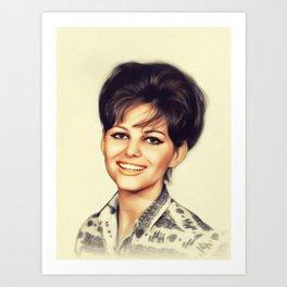 Claudia Cardinale, Vintage Actress Art Print