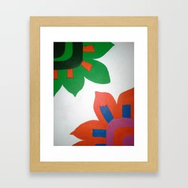 Bold Flowers Framed Art Print