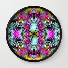 Mirror Print Wall Clock