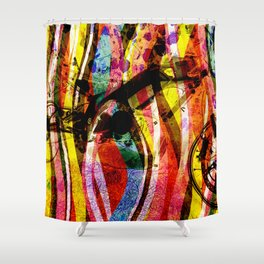 Motorbike Fibres  Dream Series 001 Shower Curtain