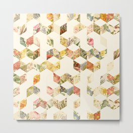 Keziah - Flowers Metal Print