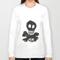 all time low Long Sleeve T-shirts featuring All Time Low Skull and Cross Bones by Kelsey