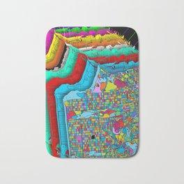 San Francisco Color Burst Bath Mat