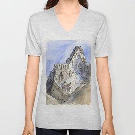 Mount Ama Dablam Unisex V-Neck