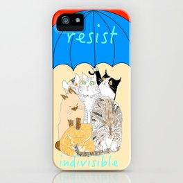 resist. indivisible iPhone Case