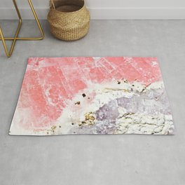 GOLD FLECKED ROSE QUARTZ Rug