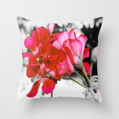 Flowers : Pop of Color  Throw Pillow