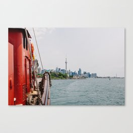 Toronto by Way of the Lake - Summer 2015 Canvas Print