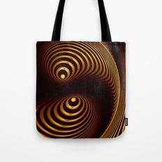 Abstract in copper tones Tote Bag