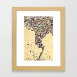Funnel Framed Art Print