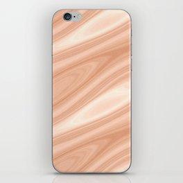 Cedar Wood Surface Texture iPhone Skin