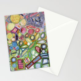 Cheerful Colorful Collection Stationery Cards