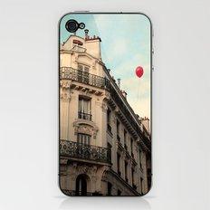 Balloon Rouge iPhone & iPod Skin