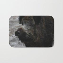 Wildschwein / wild boar Bath Mat