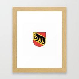 coast of arms of Bern Framed Art Print