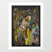 Intertwined Art Print
