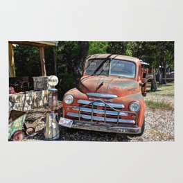 Old Truck Rug