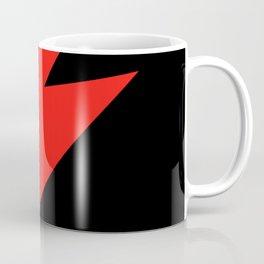 David Bowie Lightning bolt Coffee Mug