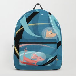 Atomic Rocket Powered Space Dogs Backpack