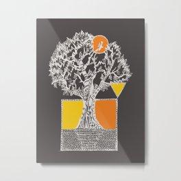 The Beyonder Oak - Variant 2 Metal Print