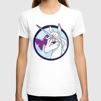 the last unicorn T-shirts featuring Last Unicorn by AriesNamarie