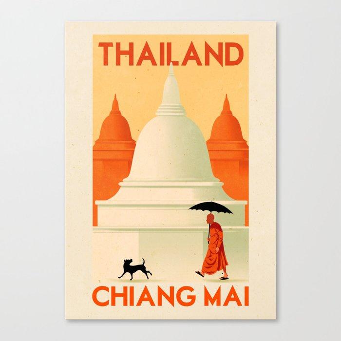Thailand - Chiang Mai Leinwanddruck