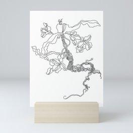 WEED ROOT Mini Art Print