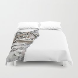 Lynx Cat Duvet Cover