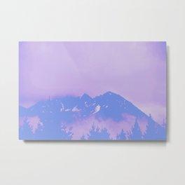 Alaska Mountain Abstract - PWP Metal Print
