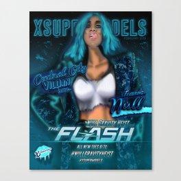 xsupermodels-TheNullHeist Canvas Print