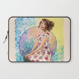 No April Showers Here Laptop Sleeve