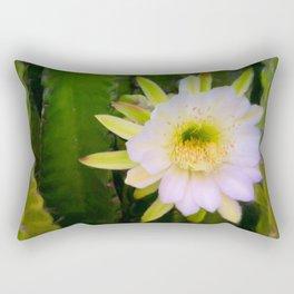 Shy Beauty Rectangular Pillow